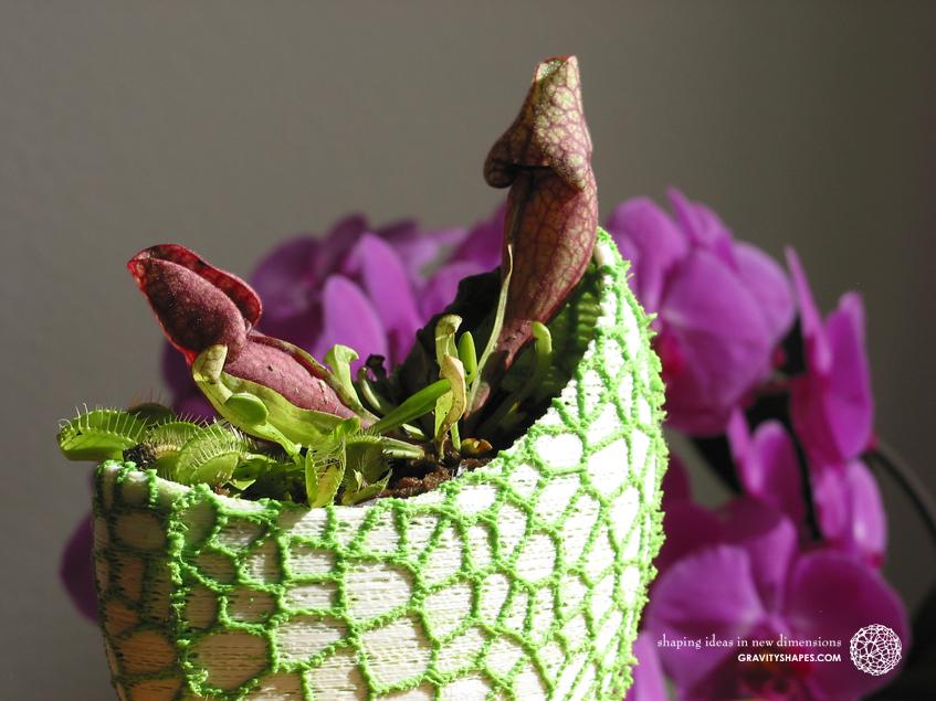Organic flower pots / Voronoi Vase