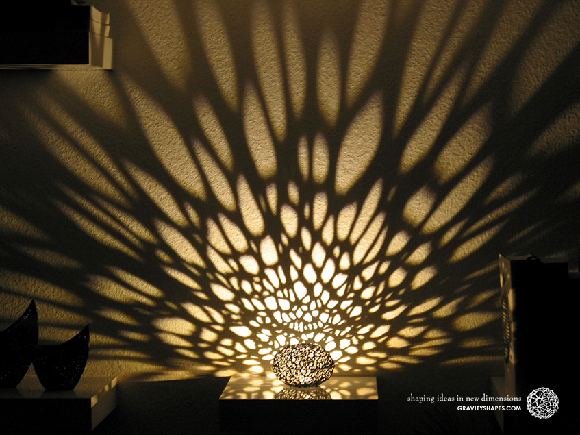 Voronoi Pearl Light Lamp No. 1 (10,4 cm)