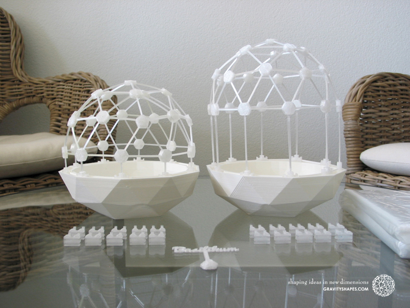Flexible Mini Greenhouse-Dome Sets with Pot