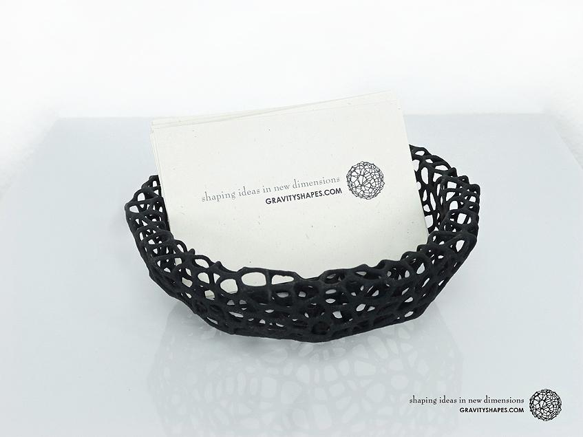 Key shell / bowl (11,5 cm) – Voronoi-Style #2
