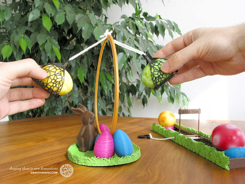 Easter eggs crasher Swing