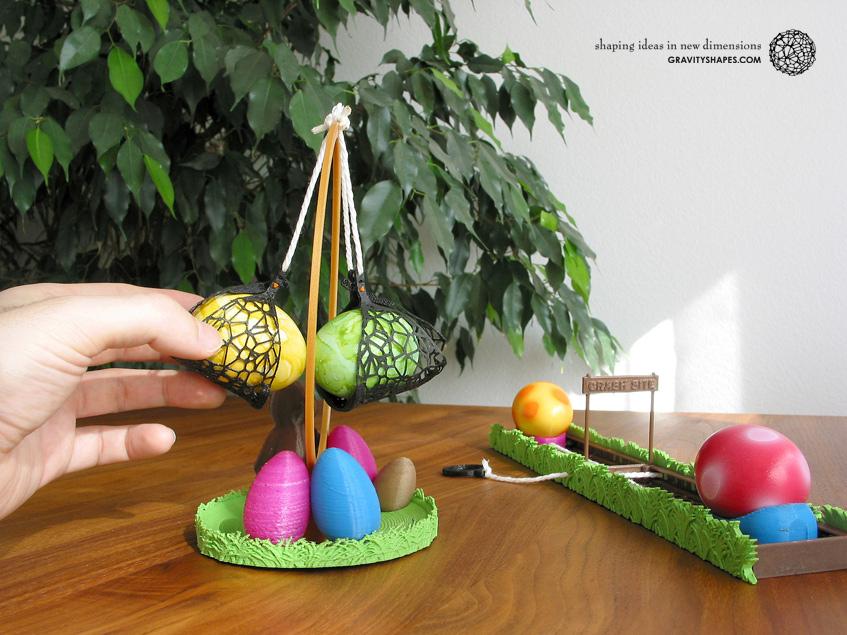 Easter eggs crasher Swing