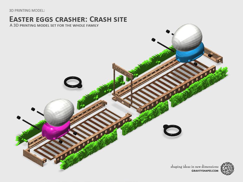 EASTER EGGS Crash site