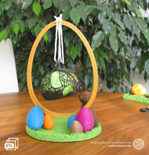 Easter eggs crasher: Swing